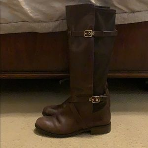Cole Haan Chocolate Brown Riding Boots